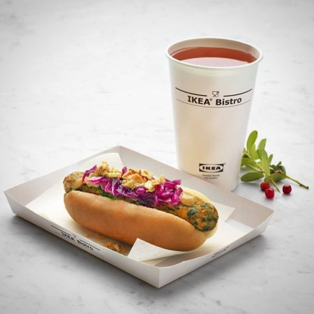 Ikea has plans to launch a veggie hot dog across Europe