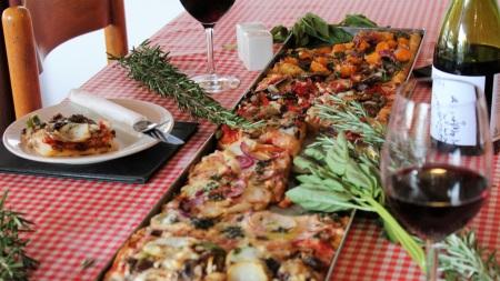 Arrivederci Pizzeria serves vegan pizza