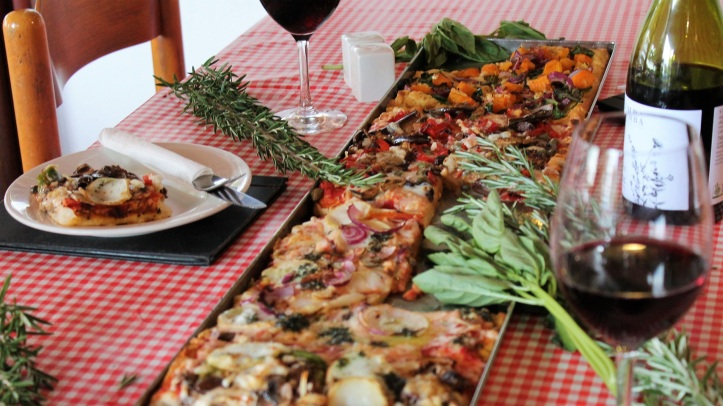 Arrivederci Pizzeria serves vegan pizza