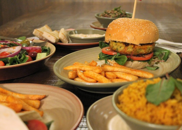 Nandos offers an impressive range of vegan-friendly menu items