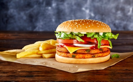 Hungry Jack's new Vegan Cheeseburger