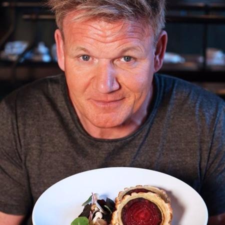 Gordon Ramsay shows off vegan beef wellington